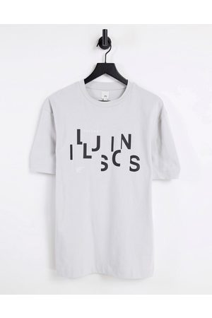 River Island Illusions boxy t-shirt in