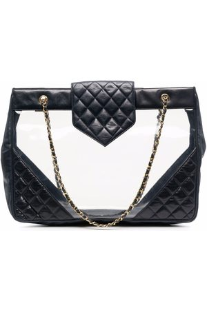 Chanel Pre-Owned 2004 diamond-quilted beach bag