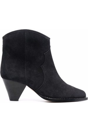 Isabel Marant Mid-heel suede ankle-boots