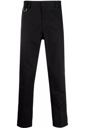 Diesel Ankle slit cotton chino trousers