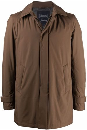 Herno Men Jackets - Feather-down hooded jacket