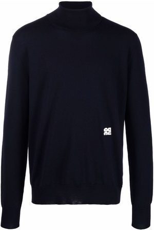 OAMC Logo-embroidered knitted jumper