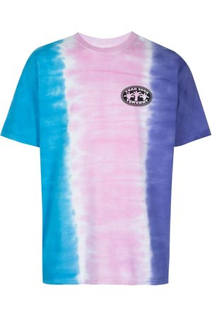This Is Never That Tie-dye stripe T-shirt