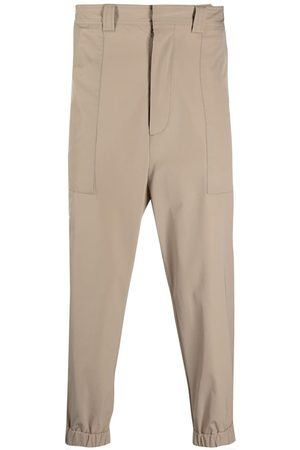 Ami Elasticated bottom tapered trousers