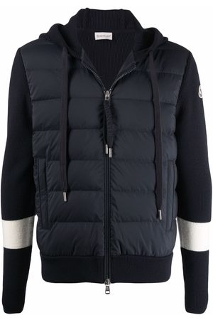 Moncler Padded-front hoodie