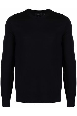 THEORY Crew-neck wool jumper