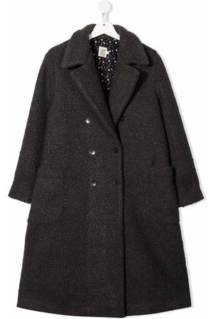 Caffe' D'orzo TEEN Gioia double-breasted coat