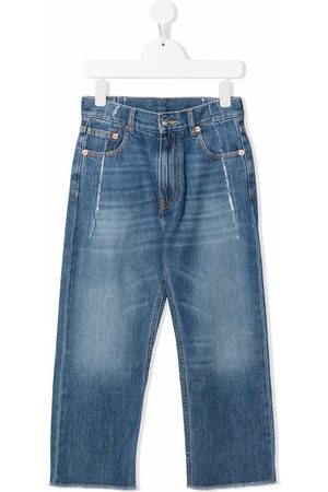 MM6 KIDS Girls Straight - Mid-rise straight jeans