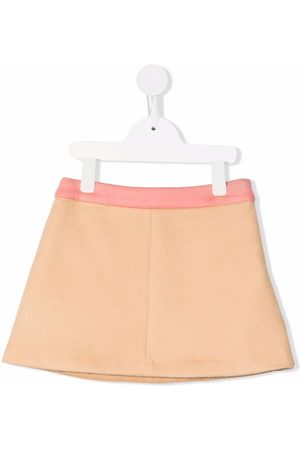 Emilio Pucci Girls Skirts - Two-tone flared skirt