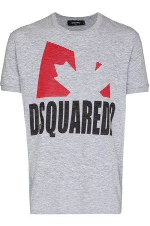 Dsquared2 D2 LEAF SS TEE GRY