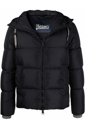 HERNO Men Jackets - Hooded down-padded jacket