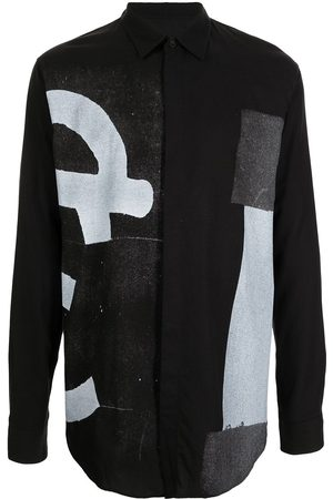 JULIUS All-over graphic-print shirt