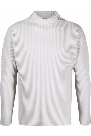 HOMME PLISSÉ ISSEY MIYAKE Men Jumpers - Pleated roll neck jumper