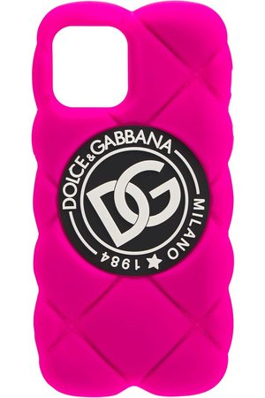 Dolce & Gabbana Women Phone Cases - Dg Quilted Iphone 12 Pro Case