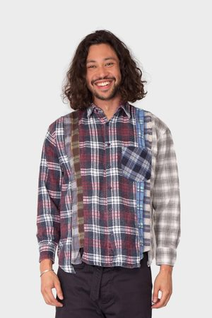 Pins & Needles Rebuild By 7 Cuts Flannel Shirt