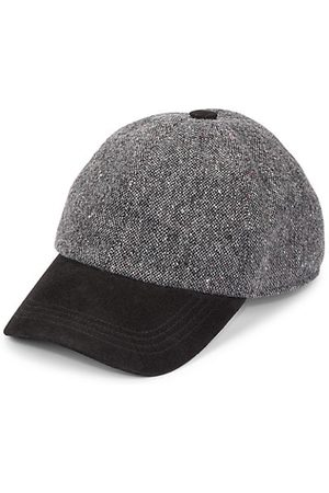 Saks Fifth Avenue Men Hats - COLLECTION Donegal Tweed Baseball Hat