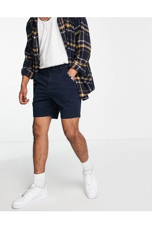 Hollister Men Chinos - 7in flat front chino shorts in