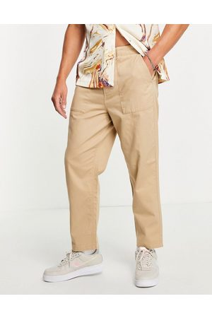 Farah Men Chinos - Hawtin relaxed fit trousers in sand