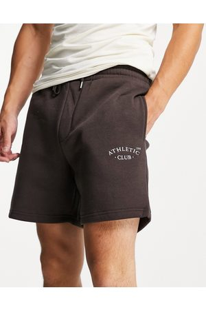 JACK & JONES Originals loose fit sweat shorts with small logo in
