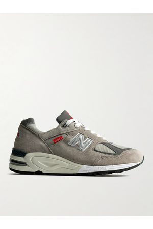 New Balance M990vs2 Suede and Mesh Sneakers