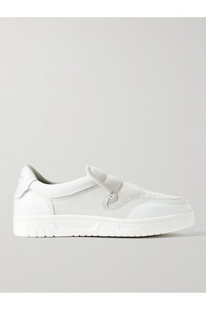 Acne Studios Buller Suede and Leather Slip-On Sneakers