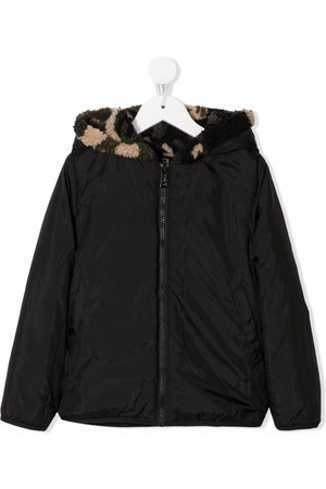 Zadig & Voltaire Boys Bomber Jackets - Reversible camouflage jacket