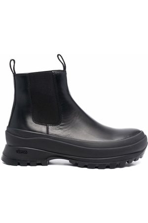 Jil Sander Men Ankle Boots - Chunky-sole Chelsea boots