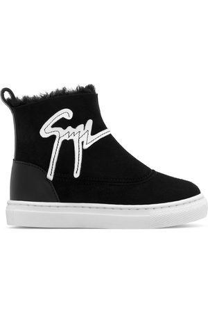Giuseppe Zanotti Boys Sneakers - Cyril Jr high-top trainers