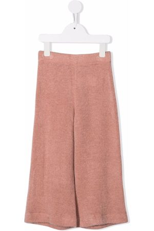 Caffe' D'orzo Girls Wide Leg Pants - Knitted wide-leg trousers