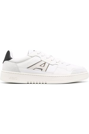 Axel Arigato Men Sneakers - Logo-patch low-top leather sneakers