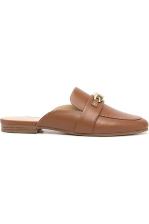 Michael Kors Women Loafers - Tilly leather slip-on loafers