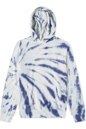 Les Tien French Terry Tie Dye Popover Hoody
