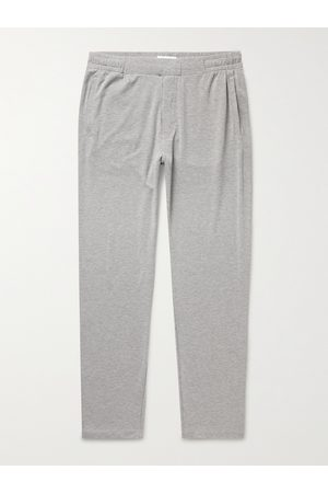 Hamilton and Hare Men Stretch Pants - Stretch Lyocell and Cotton-Blend Pyjama Trousers