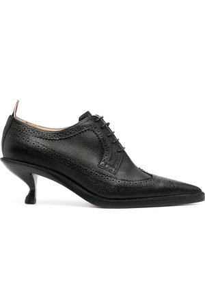 Thom Browne Women Pumps - Longwing brogues with sculpted heel
