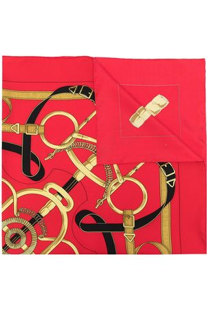 Hermès Scarves - 1990s pre-owned Eperon D'Or silk scarf