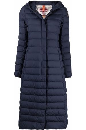 Parajumpers Women Parkas - Hooded logo-sleeve down coat