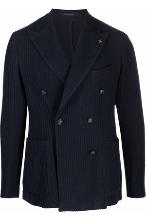 TAGLIATORE Men Blazers - Double-breasted buttoned jacket