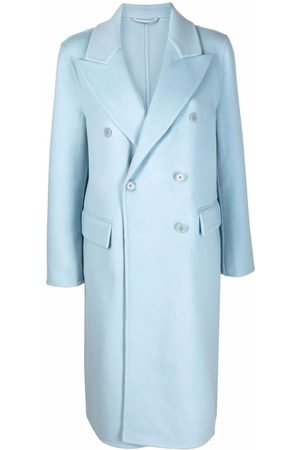 Ermanno Scervino Double-breasted felted wool coat