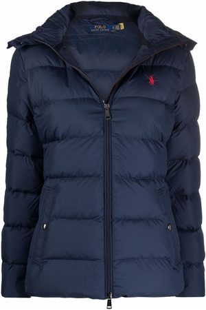 Polo Ralph Lauren Women Jackets - Embroidered-logo hooded down jacket
