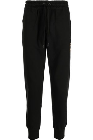 Dolce & Gabbana Crest-embroidered track pants