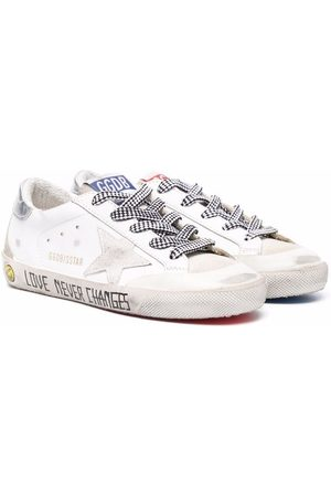 Golden Goose Boys Sneakers - Star-patch lace-up sneakers