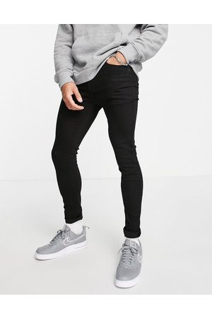 Topman Organic cotton blend spray on jeans in stay