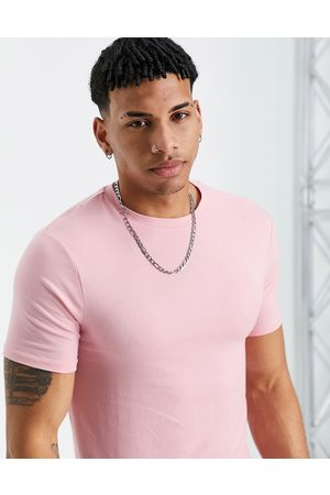 River Island Muscle fit t-shirt in pink