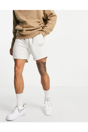 jack & jones Originals loose fit sweat shorts with small logo in light