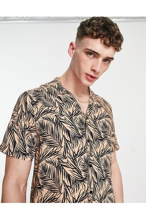 New Look Floral short sleeve shirt in