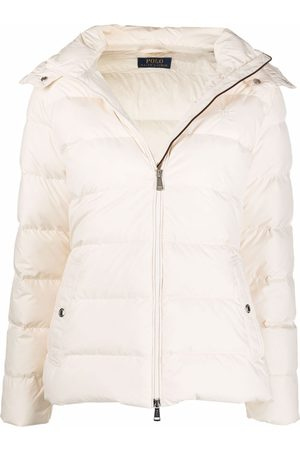 Polo Ralph Lauren Women Jackets - Embroidered-logo padded jacket