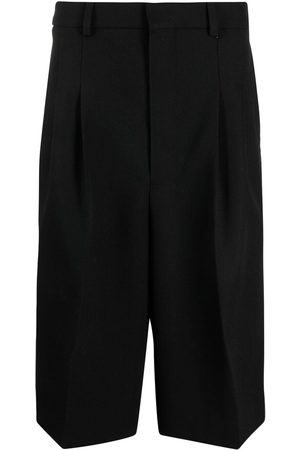 Ami Pleated tailored shorts