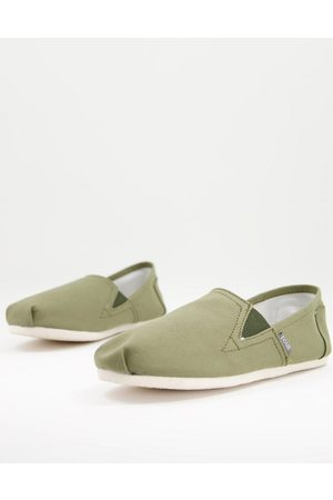 French Connection FCUK espadrilles in khaki
