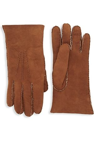 Saks Fifth Avenue COLLECTION Shearling Gloves