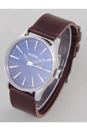 Nixon Sentry Leather Watch - /Brown Colour: /Brown